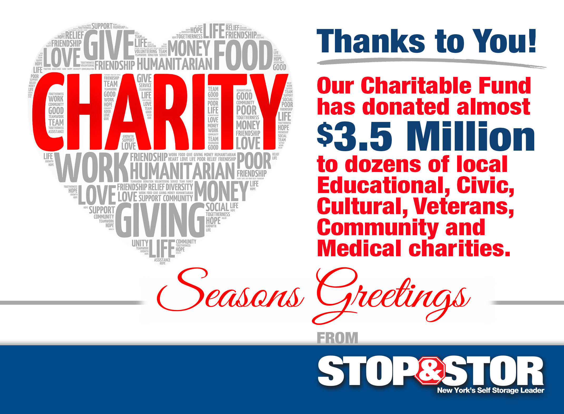 Stop & Stor Charitable Fund